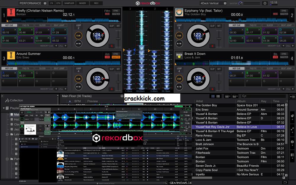 Rekordbox DJ 6.5.3 Crack Activation Key Free Download [Win/Mac]
