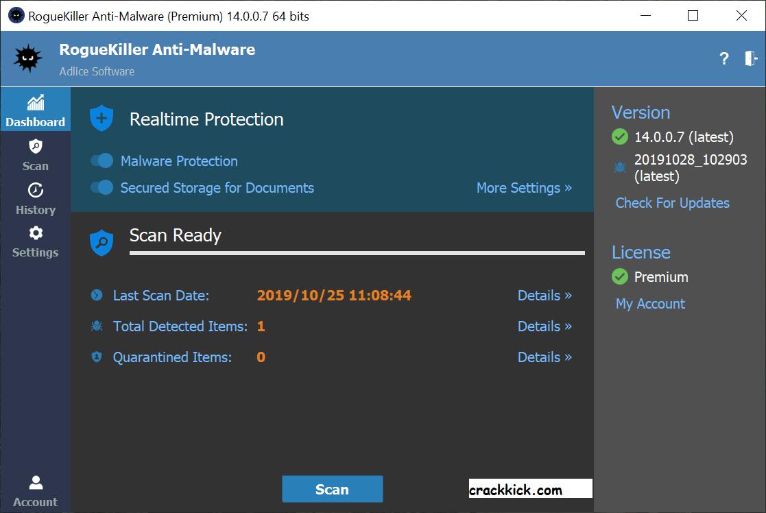 RogueKiller 15.0.7.0 Crack Keygen With License Key Download [Win/Mac]