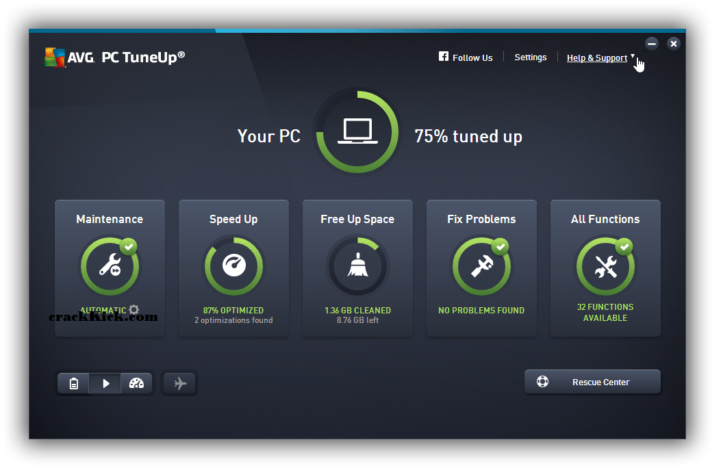 AVG PC TuneUp 21.1.2404 Crack Keygen With Activation Code Free Download [Win/Mac]