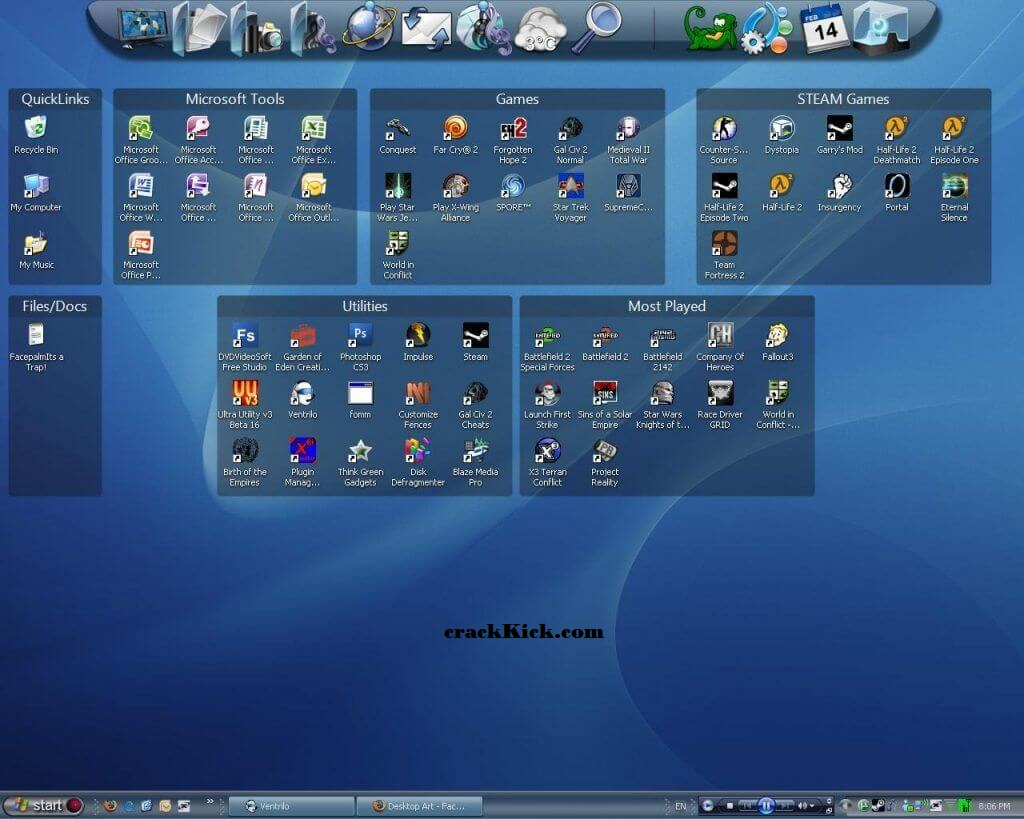 Stardock Fences 3.0.9.11 Crack With Product Key Free Download [Win/Mac]
